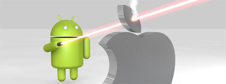 Als Apple aanbidder een maand lang op rantsoen met Android