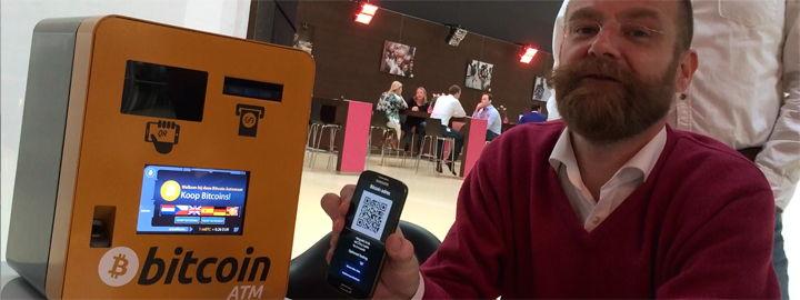 Martijn Wismeijer aka Mr. Bitcoin met onderhuidse NFC-chips