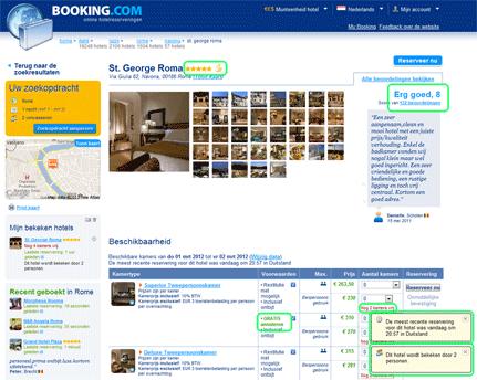 Booking.com - neuro marketing