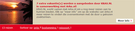 Link op Kras.nl naar Kras-nog-meer-vakanties.nl