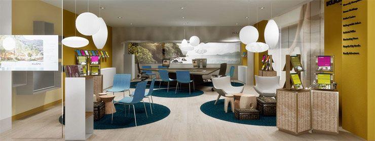 Nieuwe reiswinkel Kuoni in Den Haag